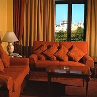 Salotto di una stanza - Hotel Iberostar Parque Central, L'Avana Vecchia, Cuba