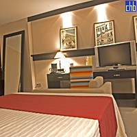 Quarto do Hotel Parque Central Torre