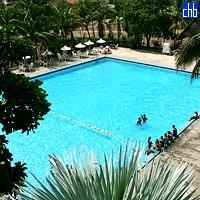Pool im Hotel Pernik