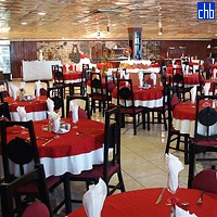 Rstorante dell'Hotel Islazul Pernik, Holguin, Cuba
