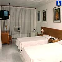 Stanza Doppia all'Hotel Pernik di Holguin, Cuba
