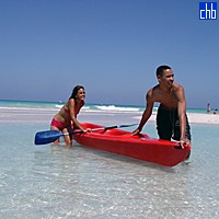 Water Sport At The Playa Caleta Hotel