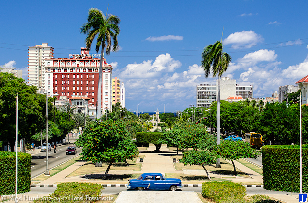 Hotel Presidente, Havana, Cuba