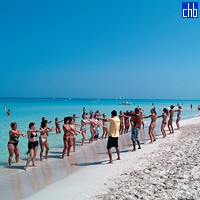 Puntarena Hotel plaża