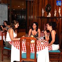 Ristorante dell'Hotel Puntarena