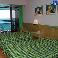 Twin Room At The Puntarena Hotel