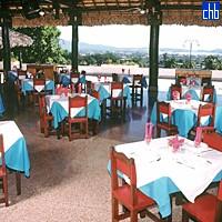 Islazul Rancho Club, Restaurante