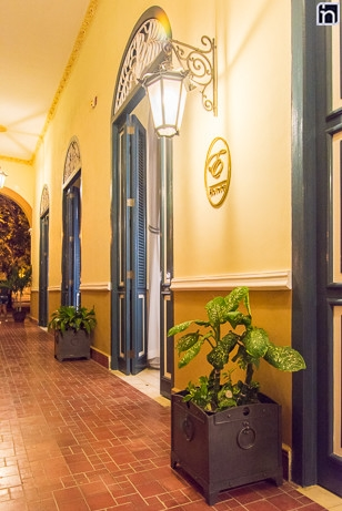 Doors at the Portal of the Hotel Real, Remedios, Villa Clara