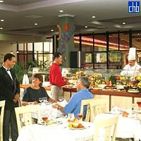 Ресторан в готелі Тургеза