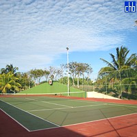 Tennis Court At Hotel Be LiveTurquesa