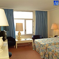 Chambre Double de l'Hôtel Riviera