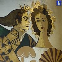 Peinture Murale dans l'Hôtel Riviera