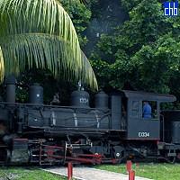 Kubański pociąg parowy