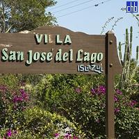 L'Entrée du Domaine de l'Hôtel Villa Islazul San Jose del Lago