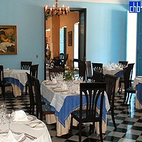 Restaurant At The Hotel Habaguanex Santa Isabel