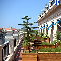 Terrace At The Hotel Santa Isabel