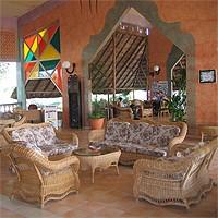 Lobby of Santa Lucia Hotel