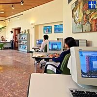 Интернет кафе в отеле Сантьяго де Куба