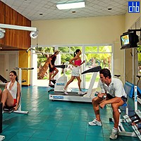 Fitness Centre At Santiago De Cuba Hotel