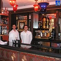 Bar im Saratoga Hotel