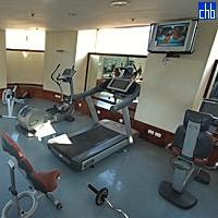1saratoga pokój siłowni