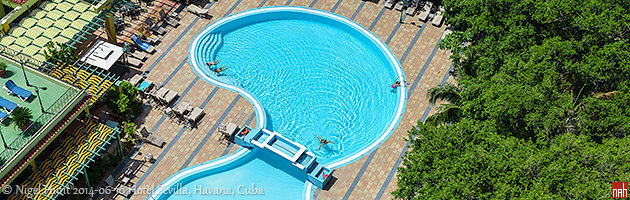 Das Hotel Sevilla Swimming Pool (2014)