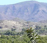 Natural surroundings of Sierra Maestra