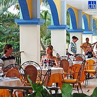 Restaurant At The Hotel Sol Sirenas Coral Resort