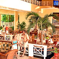 Lobby Of The Tainos Hotel
