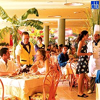 Restaurant At The Tainos Hotel