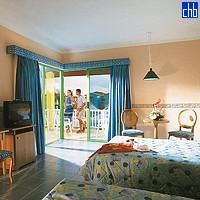 Camera dell'Hotel Tainos