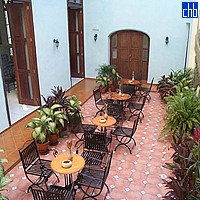 Courtyard At Hotel Habaguanex Tejadillo