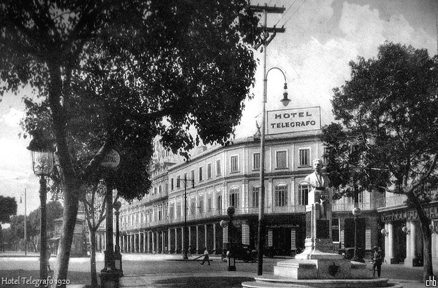 Hotel Telegrafo in 1920, Havanna, Kuba