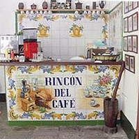 Coffee Bar at Valencia Hostal