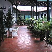 Терраса в отеле Валенсия