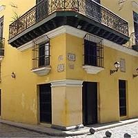 Historijski hotel u staroj Havani