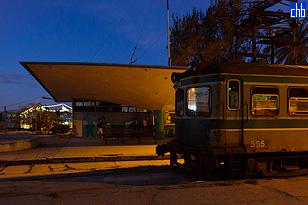 Električni Voz Hershey na stanici Casa Blanca i na liniji Havana - Matanzas