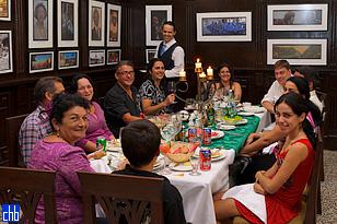 Restaurante en el Hotel Velasco