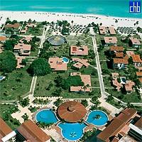 Pogled iz vazduha na hotel Gran Caribe Villa Cuba Resort