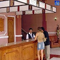 Hotel Islazul Vueltabajo Recepcija hotela