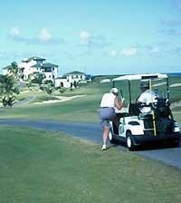Гра в гольф