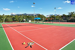 Tennis Courts at the Hotel Starfish Cayo Santa Maria