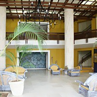 Lobby at Hotel Escambray