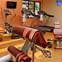 Keep in shape at the Hotel Melia Buenavista Fitness Centre with its modern equipment