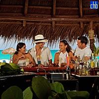 Santa Maria Hotel bar przy plaży