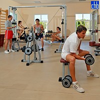 Fitness At The Santa Marina Hotel