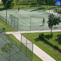 Tennis Court At Memories Miramar