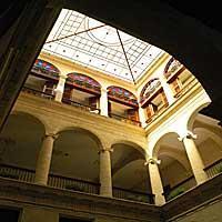 Tavanica hotela Palacio O'Farrill