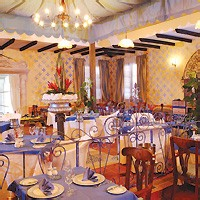 Готель Парадісуз ресторан