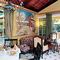 Hotel Río de Oro, Interior de la Villa